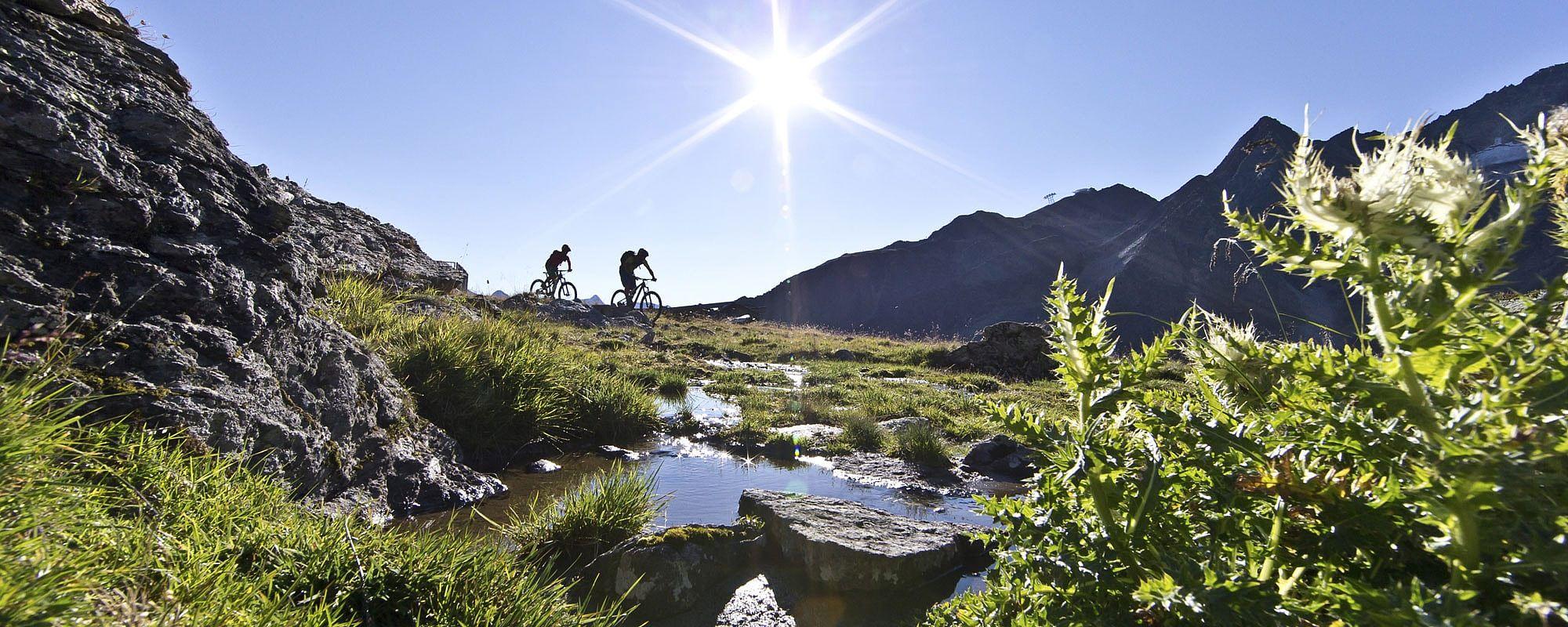 Mountainbikeurlaub Sölden