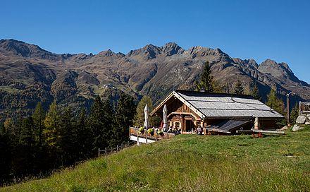 Berghütte im Ötztal