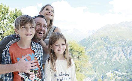 Familienurlaub mit Ötztal Card